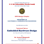 "Technical Talk on ""Embedded Hardware Design"""