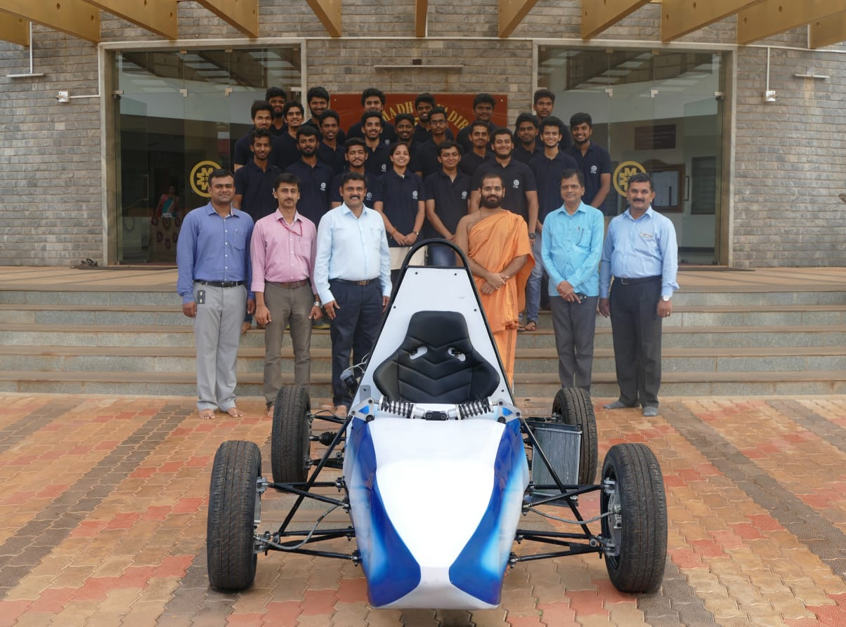 Smvitm Mechanical Engineering Racing Team Lakshya Motorsports Car For Supra Sae India 2019 Sode Edu In